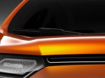 """Ford's """"New Global Vehicle,"""" believed to be a Fiesta-based crossover."""