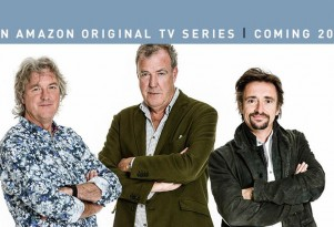 Former 'Top Gear' hosts James May, Jeremy Clarkson and Richard Hammond now at Amazon