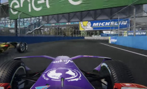 Formula E video game ghost racing