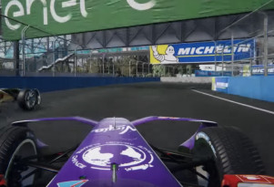 Formula E video game ghost racing