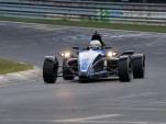 Formula Ford 1.0 EcoBoost tackles the Nürburgring (Photo: Ford of Europe)