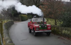 This man converted a 50-year-old Land Rover to run on coal (as one does)