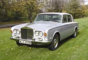 Freddie Mercury's 1974 Rolls-Royce Silver Shadow - image: Coys Auctions