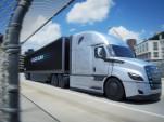 Freightliner eCascadia electric semi-truck