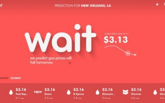 Fuelcaster App Predicts The Rise & Fall Of Gas Prices (And It's Free)