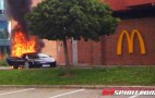 Lamborghini Gallardo Gets Flame Broiled At Norwegian McDonald's