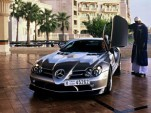 Gallery: Mercedes-McLaren SLR 722 in Dubai