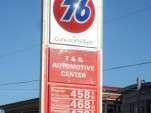 Gas prices, San Francisco, CA