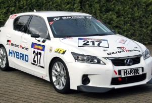 Gazoo Racing Lexus CT 200h race car