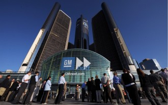 GM Announces Big Profits; First Time Detroit's Been In The Black Since 2004