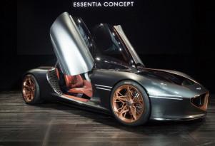Genesis Essentia Concept, 2018 New York auto show
