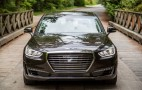 2017 Genesis G90 driven, 2018 VW Touareg spied, Ford Model E rumored: Today's Car News