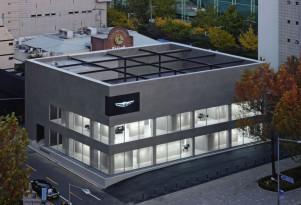 First standalone Genesis showroom in Gangnam district Seoul, South Korea