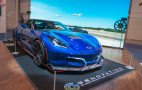 Genovation all-electric Chevy Corvette sports car debuts at CES