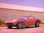 George Barris' Asteroid Corvette - image: Carlisle Events