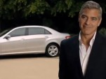 George Clooney advertising the Mercedes-Benz E-Class L in China