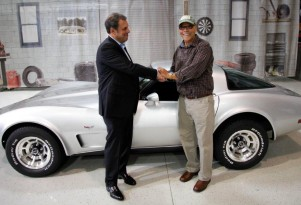 George Talley and his 1979 Corvette