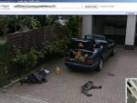German man pranks Google Street View