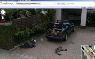 Naked Man, Woman In Labor, Prank Google Street View