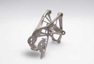 GM 3D-printed seat bracket concept part