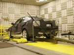 GM tunes the Cadillac ATS' exhuast in an anechoic chamber.