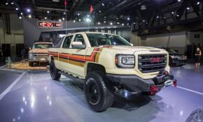 2018 GMC Desert Fox Sierra concept at Dubai Motor Show