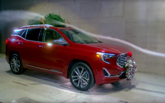 GM: Sticking Rudolf's nose on your car hurts fuel economy