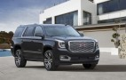 2018 GMC Yukon Denali sports revised grille, 10-speed auto