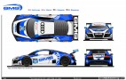 Daytona 24-Hour Audi R8 LMS GTD Driver Lineups, Liveries Revealed