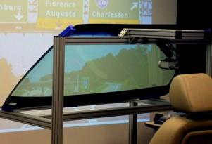 GM's laser-based HUD system