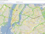 Google Maps traffic - New York area