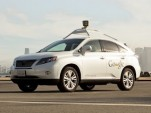 Google's Self-Driving Lexus RX450h