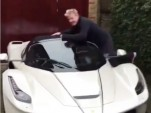 Gordon Ramsay and his Ferrari LaFerrari Aperta