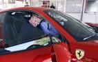 Everyone's favorite chef Gordon Ramsay visits Ferrari