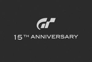 Gran Turismo 15th anniversary logo