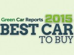 Green Car Reports' Best Car To Buy 2015 award