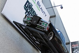 Green Hornet's Black Beauty at Petersen Automotive Museum