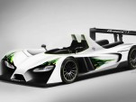 GreenGT LMPH2 hydrogen fuel cell race car