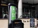 Curbside electric-car charging in Jersey City highlights importance for city drivers