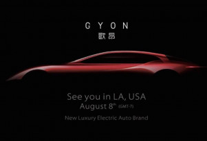 Chinese Gyon to bring another luxury electric car to market in U.S.