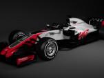2018 Haas F1 race car