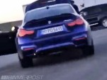 Hardcore BMW M4 variant spotted during photo shoot - Image via Bimmerpost