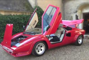 Harry's Garage takes the Lamborghini Countach on a European road trip