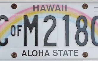 Wyoming, Hawaii Have America's Favorite License Plates, Delaware Not So Much
