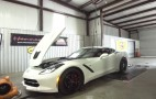 Hennessey's 1,000-Horsepower Corvette Gets Strapped To The Dyno: Video