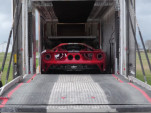 John Hennessey shows how a new Ford GT is delivered