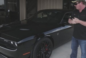 Hennessey tests his 850-horsepower Dodge Challenger Hellcat