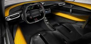 Hennessey Venom F5 interior rendering
