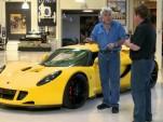 Hennessey Venom GT visits Jay Leno's Garage, again
