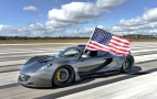 Hennessey Venom GT breaks on through to the other side
